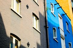 Painted apartment accomodation royalty free stock photos