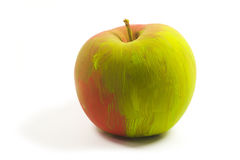 Painted apple Stock Image