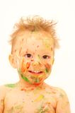 Painted baby Royalty Free Stock Photos