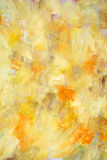 Painted background. Yellow and orange color painted canvas as background Royalty Free Stock Images