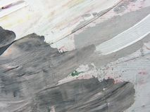 Painted background gray texture Stock Image