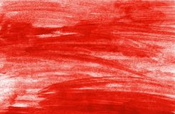 Painted untidy red background. Painted background with untidy red color Royalty Free Stock Photos