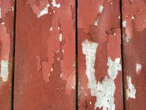 Painted Barn Wood Royalty Free Stock Photography