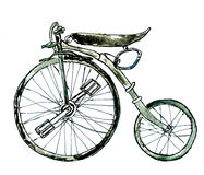 Painted Bicycle Stock Image