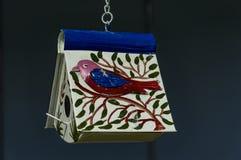 Painted birdhouse Stock Image