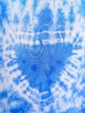 Painted blue fabric, textiles. fabric texture. royalty free stock photo
