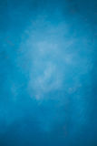 Painted blue wall Stock Photography