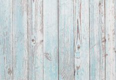 Painted blue and white old wood texture background Royalty Free Stock Images