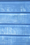 Painted blue wooden planks background Royalty Free Stock Images