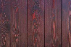 Painted boards. Background of the new boards mahogany Stock Images