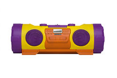 Painted boombox Royalty Free Stock Images