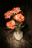 Painted Bouquet. Bouquet painted in light royalty free stock images