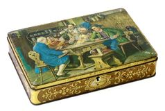Painted box Royalty Free Stock Image