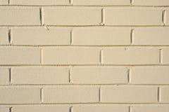 Painted brick wall. Stock Photos