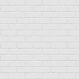 Painted Brick Wall. Painted Paving Pattern Background / Grey-White Brick Surface / Seamless texture Stock Image