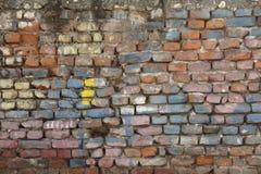 Painted Brick Wall Stock Photos
