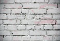 Painted brick wall background Royalty Free Stock Image