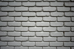Painted Brick Wall Royalty Free Stock Images
