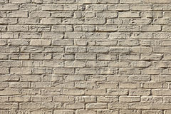 Painted Brick Wall Stock Photography