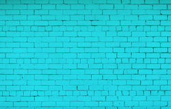 Painted brick wall Royalty Free Stock Photos