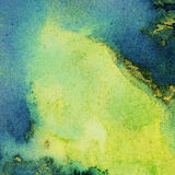 Painted bright watercolor background Stock Photography