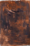 Painted brown background strokes. Painted brown background brush strokes venetian style Stock Photo