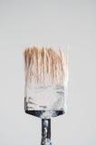 Painted brush Stock Photo