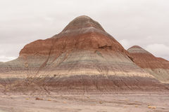 Painted Butte in the Painted Desert Stock Photography