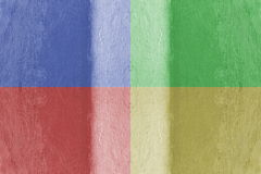 Painted canvas Stock Image