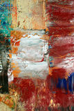 Painted canvas as background. Royalty Free Stock Photography