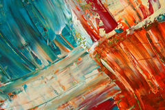 Painted canvas as background. Royalty Free Stock Image