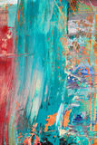 Painted canvas as background. Royalty Free Stock Photo