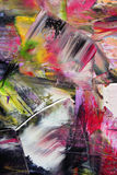 Painted canvas as background. Art is created and painted by photographer Stock Photo
