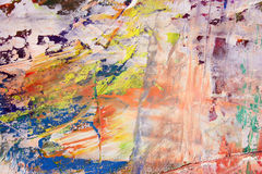 Painted canvas as background Royalty Free Stock Photography