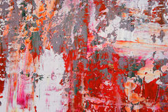 Painted canvas as background Stock Image
