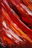 Painted Canvas As Background - Dark Red Royalty Free Stock Images
