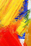 Painted canvas asbackground Royalty Free Stock Photography