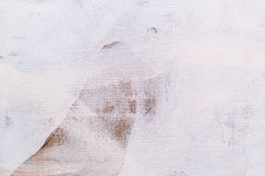 Painted Canvas Detail Texture Background Stock Photo