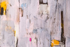 Painted canvas texture Royalty Free Stock Photography