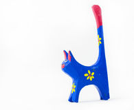 Painted cat Stock Images