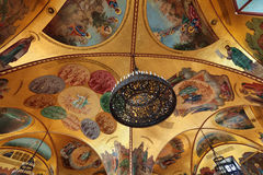 Painted ceiling Royalty Free Stock Photos