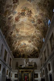 Painted ceiling in Cathedral of Toledo Spain Royalty Free Stock Image