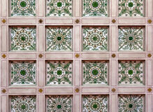 Painted ceiling at the Hermitage Museum Stock Image