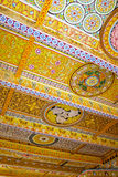Painted Ceiling at Isurumuniya Temple, Sri Lanka Royalty Free Stock Image