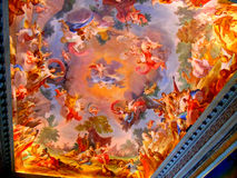 Painted ceiling Royalty Free Stock Images