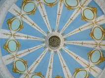 Painted ceiling Stock Photography