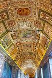 Painted ceiling at Vatican Museum Royalty Free Stock Image