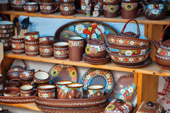 Painted ceramics Royalty Free Stock Photography