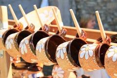 Painted ceramics Royalty Free Stock Photo