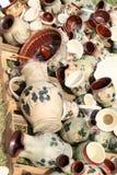 Painted ceramics Stock Image
